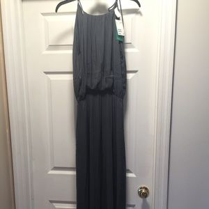 NWT H&M Gray Maxi Dress